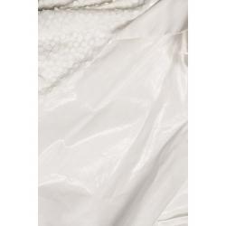 Camasa alba cu maneci din paiete Larisa Dragna