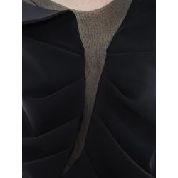 Rochie mini asimetrica cu insertii de tulle Florentina Giol
