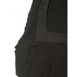 Pantaloni din bumbac cu talie inalta