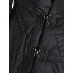 Jacheta neagra din fas cu buzunare Edita Lupea