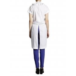 Camasa alba asimetrica cu maneca scurta Larisa Dragna