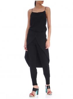 Black Tail Skirt