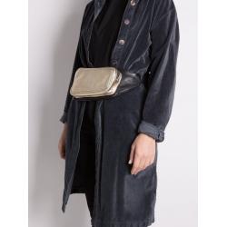 Borseta aurie din piele naturala Sac Bags