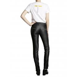 Pantaloni negri metalizati Larisa Dragna