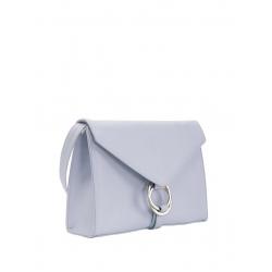 Geanta baby blue din piele naturala Sac Bags