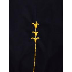 Set crop top si pantaloni din bumbac Nicoleta Obis