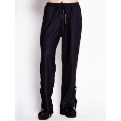 Pantaloni negri din jerseu