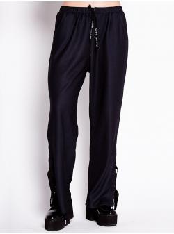 Pantaloni negri din jerseu Chic Utility