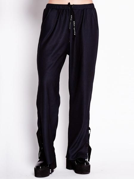 Black Jersey Trousers