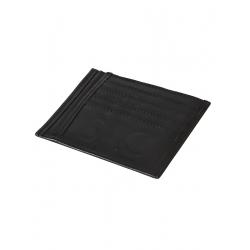 Natural Leather Black Portcard