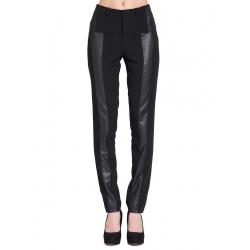 Pantaloni negri drepti Larisa Dragna