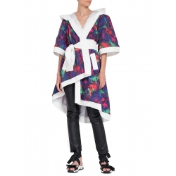 Two-Faced Printed Trench