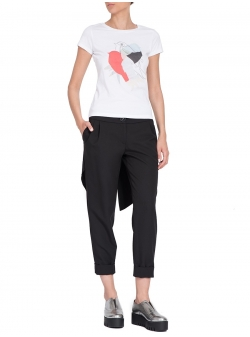 Pantaloni negri cu aplicatii spate Florentina Giol