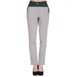 Pantaloni gri cu insertii Florentina Giol