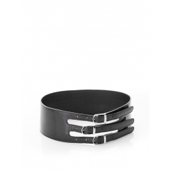 Black Lacquered Belt