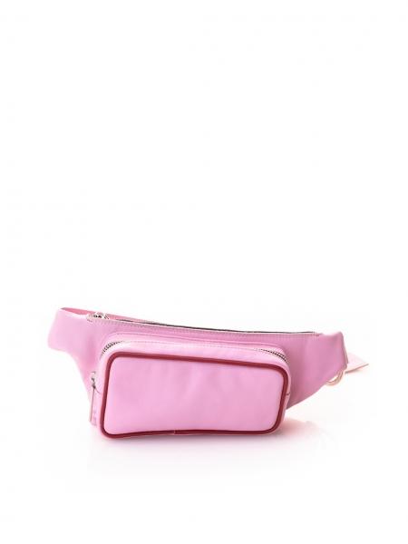 Borseta roz din piele naturala Sac Bags