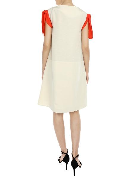 Beige Dress With Pockets