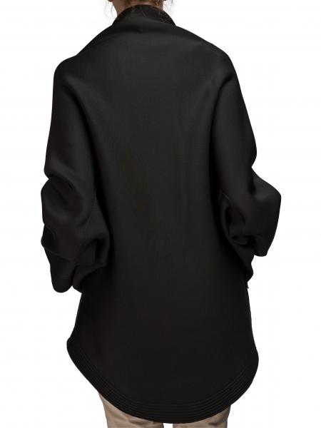 Jacheta supradimensionata cu fermoar