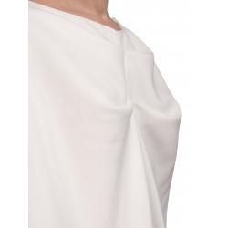White Structured Midi Dress