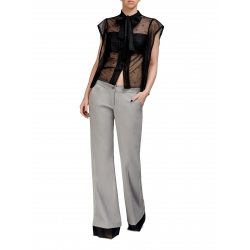 Pantaloni evazati cu talie joasa Florentina Giol