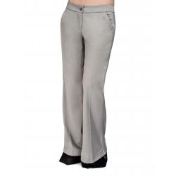Pantaloni evazati cu talie joasa