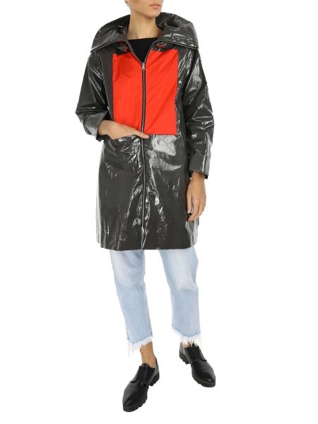 Grey Jacket with Detachable Hood
