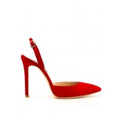 Pantofi stiletto rosii Alice