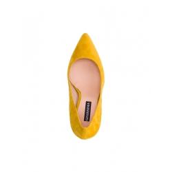 Pantofi stiletto galbeni Alice Ginissima
