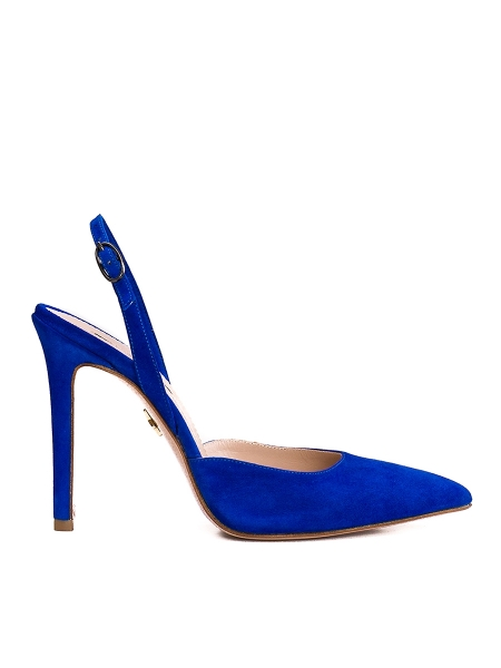 Blue Alice Pointed Toe Shoes