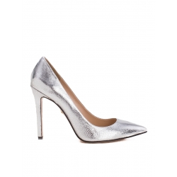 Pantofi stiletto argintii Alice Ginissima