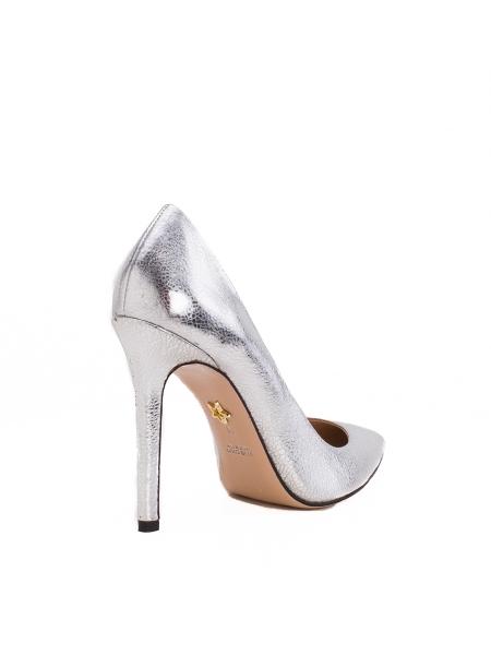 Pantofi stiletto argintii Alice