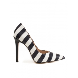 Striped Alice Stilettos