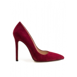 Pantofi stiletto bordeaux Alice Ginissima