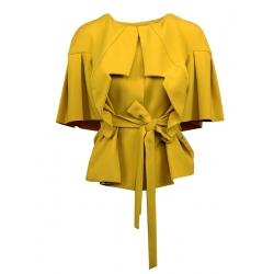 Jacheta galbena cu cordon