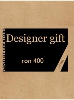 Voucher Cadou 400 Lei (format electronic sau print) Vouchers