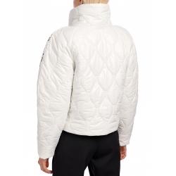 White Jacket With Asymmetric Zipper I Am