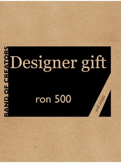 Voucher Cadou 500 Lei (format electronic sau print)