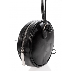 Mini Black Leather Bag