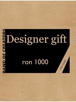 Voucher Cadou 1.000 Lei (format electronic sau print)