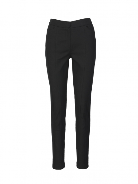 Fitted cigarette pants: