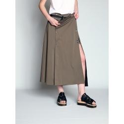 Modular Skirt With Detachable Panel