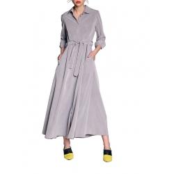 Rochie maxi cu cordon in talie