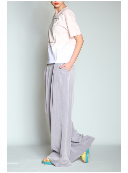Oversized Summer Grey Pants