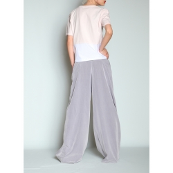 Pantaloni de vara supradimensionati