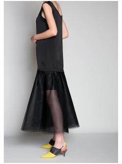 Black Modular Dress