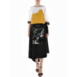 Midi Skirt With Front Pocket