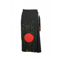 Hand Painted Skirt Trousers