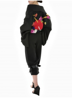 Jacheta kimono cu flori
