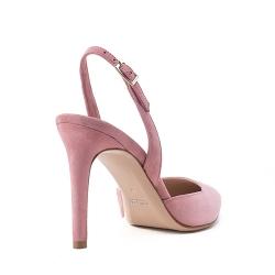 Sandale din piele intoarsa Alice