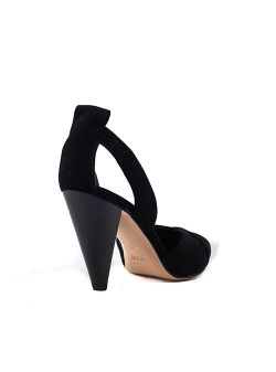Black Natural Leather Sandals Alice